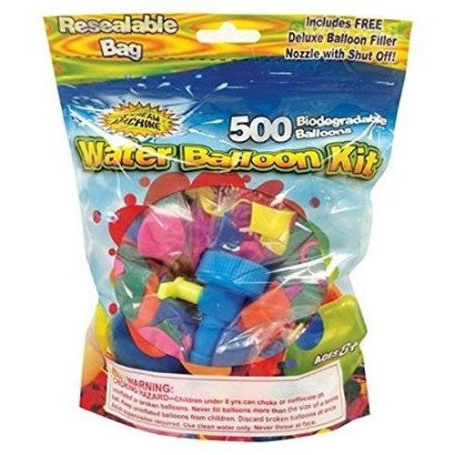 Water Sports Water Balloon Refill Kit, 500-Pack - Wakeboss