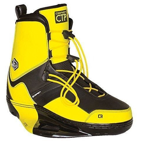 Obrien Nomad 6-8 Pair CTP Yellow Bindings - Wakeboss