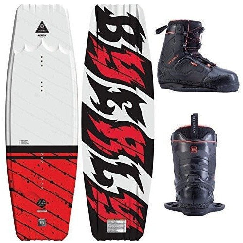 Byerly Conspiracy Wakeboard with Shift CT Boots - Wakeboss