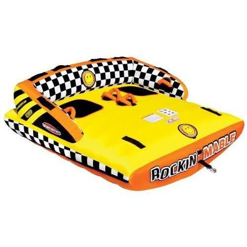 SPORTSSTUFF 53-2262 Rockin' Mable 2 Towable Tube, 2 Rider - Wakeboss