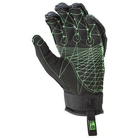 Radar Vapor Boa-K Inside Out Gloves Glow/Blk (2017)-GLOW/BLK-xs - Wakeboss