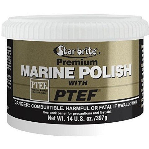 Star brite Premium Marine Polish with PTEF 14 oz - Wakeboss