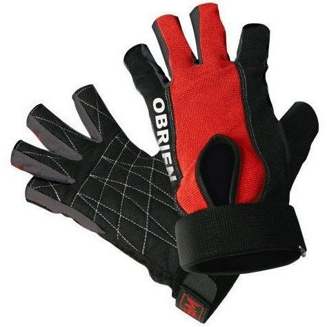 O'Brien 3/4 Ski Skin Gloves Med - Wakeboss