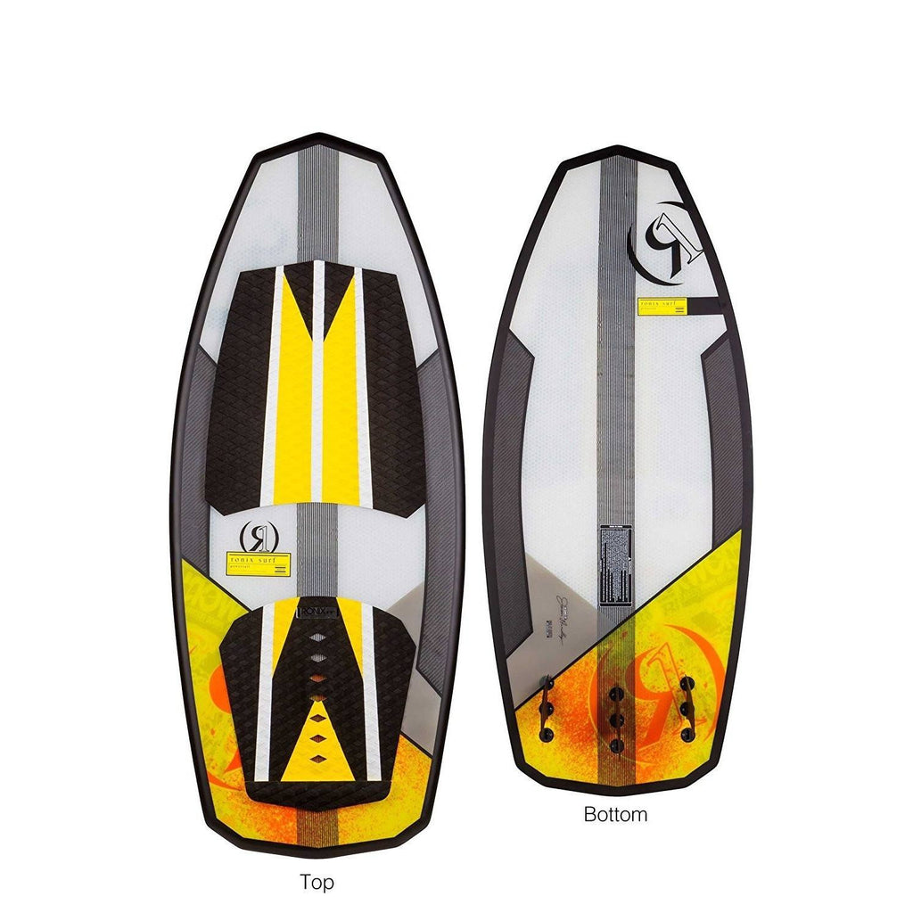 Ronix HoneyComb W/Technora Orange/Yellow Powertail (2017)-ORANGE-4'5 inch - Wakeboss
