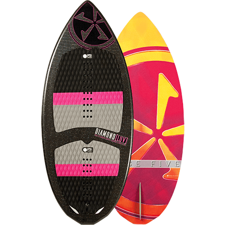 Phase Five Diamond Luv Wakesurf Board 2017 - Wakeboss