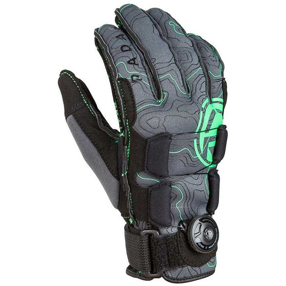 Radar Vapor Boa-A Inside Out Gloves Grey/Glow
