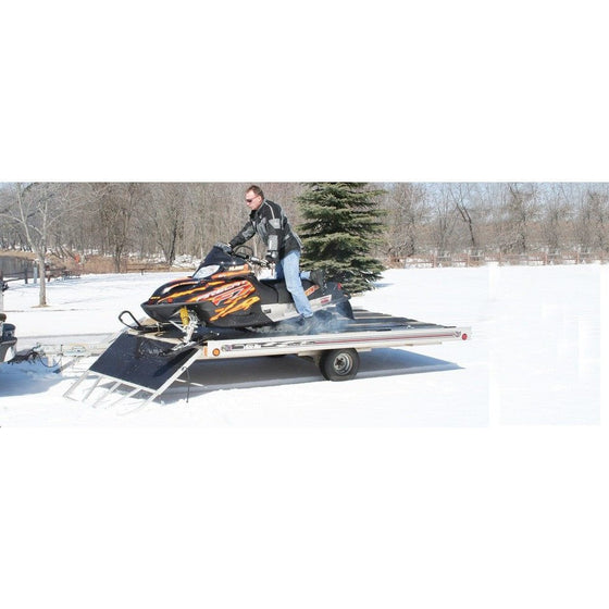 FLOE Trailers Open Ramp Snowmobile - Wakeboss
