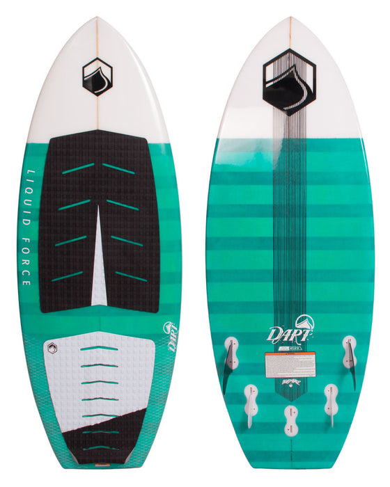 Liquid Force Dart Wakesurfer Sz 5ft 3in