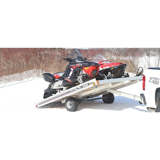 FLOE Trailers Open Tilt Snowmobile - Wakeboss
