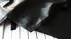 Digital piano cover in black leatherette