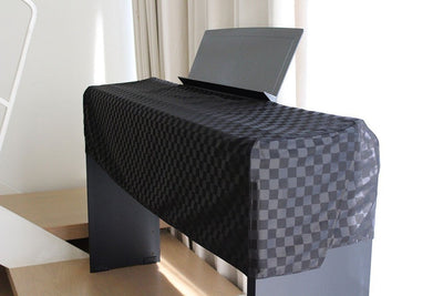 Clairevoire C115 Digital Piano Cover [Ebony Black] for Yamaha P115 / P105 / P115b
