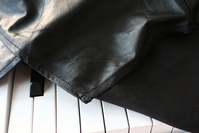 Clairevoire C660 Digital Piano Cover [Limited Edition Black Leatherette] for Yamaha DGX 650/660