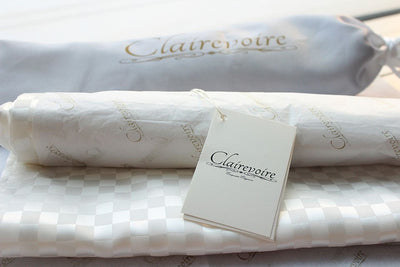 Clairevoire Universal Keyboard Cover [Pearl White]