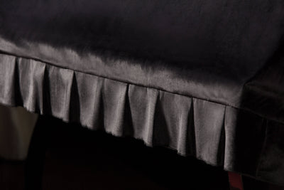 pleat shot upright piano cover 2