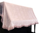 Pink upright piano cover poly fabric