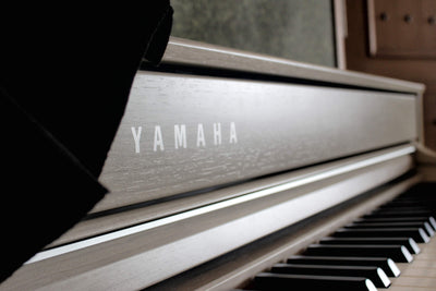 close up shot for yamaha clavinova cover