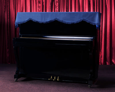 clairevoire piano top cover in blue