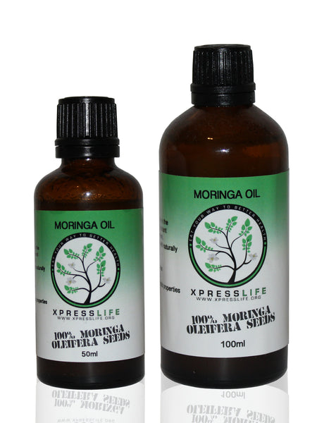 Cold Pressed Unrefined Moringa Oil