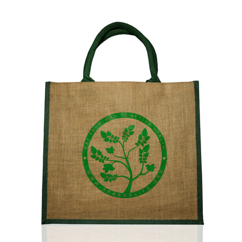 Xpress Life Jute Shopping bag