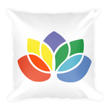 Square Pillow | Lotus Shaped Chakras