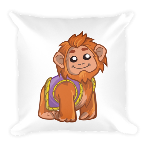 Square Pillow | Baby Monkey Kids