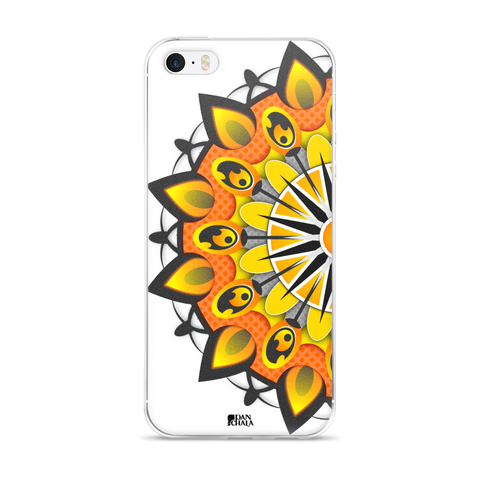 iPhone 5/5s/Se, 6/6s, 6/6s Plus Case | Fire Mandala