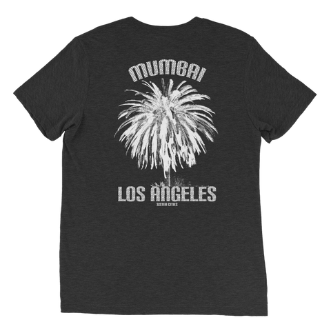Mumbai & LA Sister Cities Unisex Tri-blend Shirt