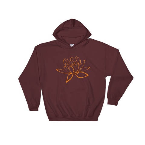 Lotus Hooded Sweatshirt