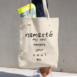 Cotton Tote Bag | Namasté