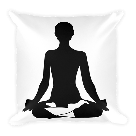 Square Pillow | Lotus Yoga
