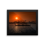 Framed Photo Paper Poster | Kerala Southwest India