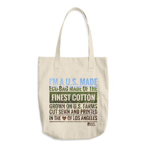 Cotton Tote Bag | Eco-Statement