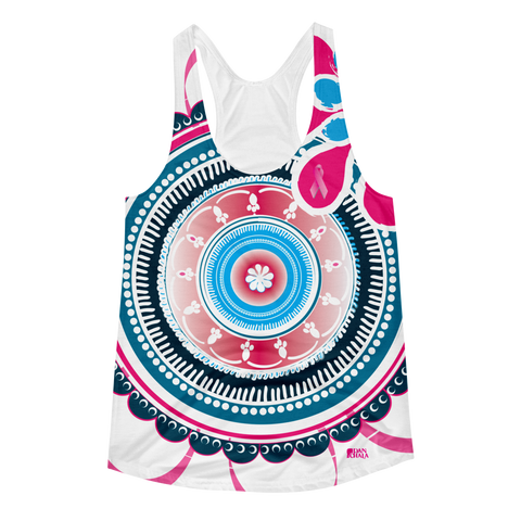Pink October All-over-print Women's Racerback Tank