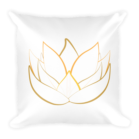 Square Pillow | Lotus