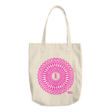 Pink October Cotton Tote Bag