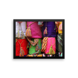 Framed Photo Paper Poster | Colors of India