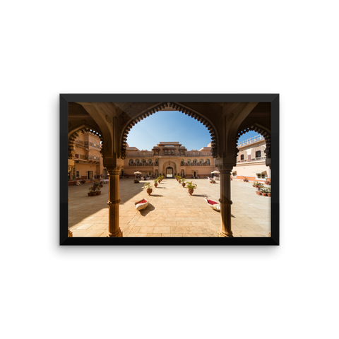 Framed Photo Paper Poster | Chomu-Palace