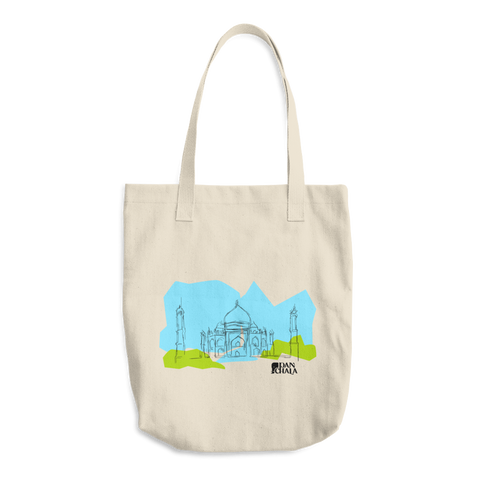 Cotton Tote Bag | Taj Mahal