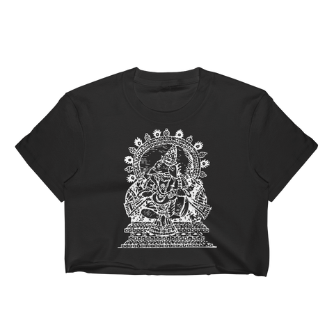 Ganesha Women's Crop Top