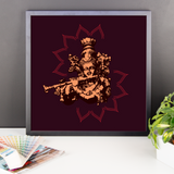 Framed Photo Paper Poster | Krishna