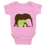 Baby Elephant Infant Bodysuit