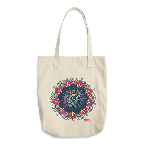 Cotton Tote Bag | Mandala