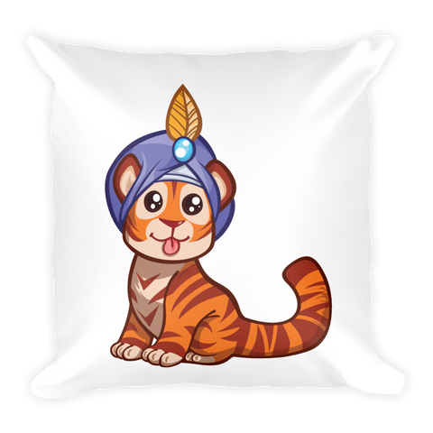 Square Pillow | Baby Tiger Kids