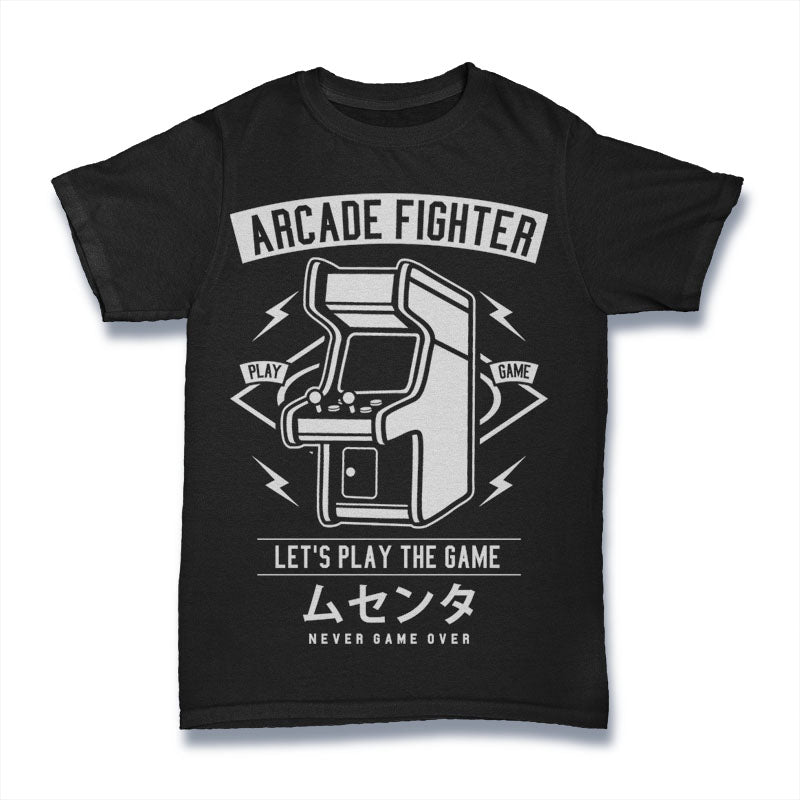 Arcade Fighter - Mens T-Shirt