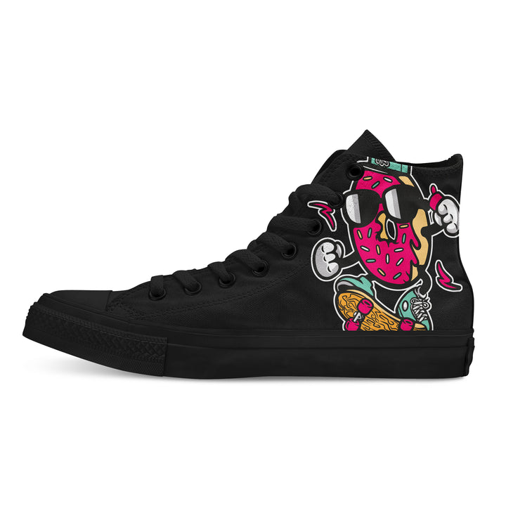 Donut Skater - Custom High Tops