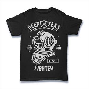 Deep Seas Fighter - Mens T-Shirt