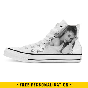 Ariana Grande - Custom High Tops