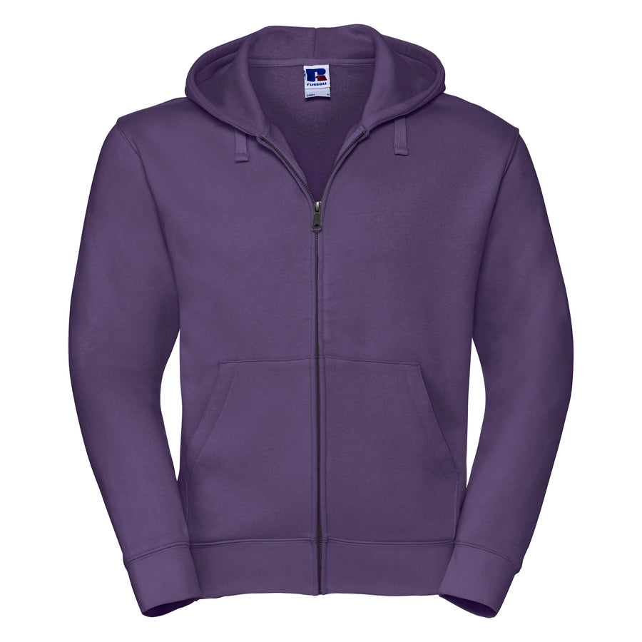 Russell Authentic Zipped Hoodie - Men's