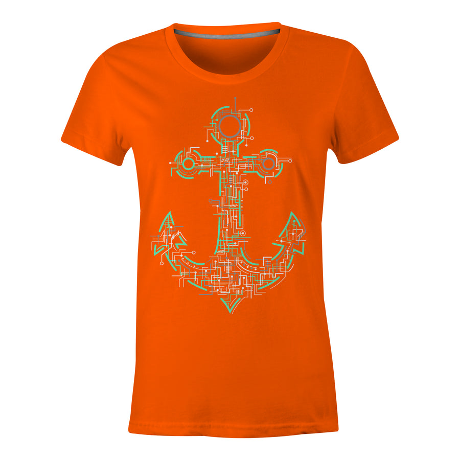 Electric Anchor - Ladies T-Shirt