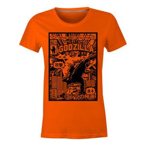 Godzilla - Ladies T-Shirt